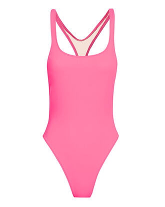 Venice One Piece Swimsuit, PINK, hi-res
