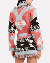 Icon Intarsia Cashmere Wrap Cardigan, MULTI, hi-res