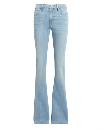 Le High Swiss Alps Flare Jeans, LIGHT BLUE DENIM, hi-res