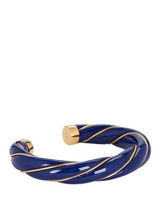 Diana Twisted Bracelet, NAVY, hi-res