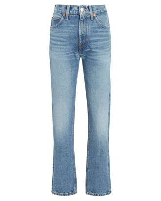 70s Straight-Leg Jeans, MEDIUM WASH DENIM, hi-res