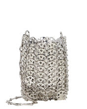 Mini 1969 Chain-Mail Bag, SILVER, hi-res