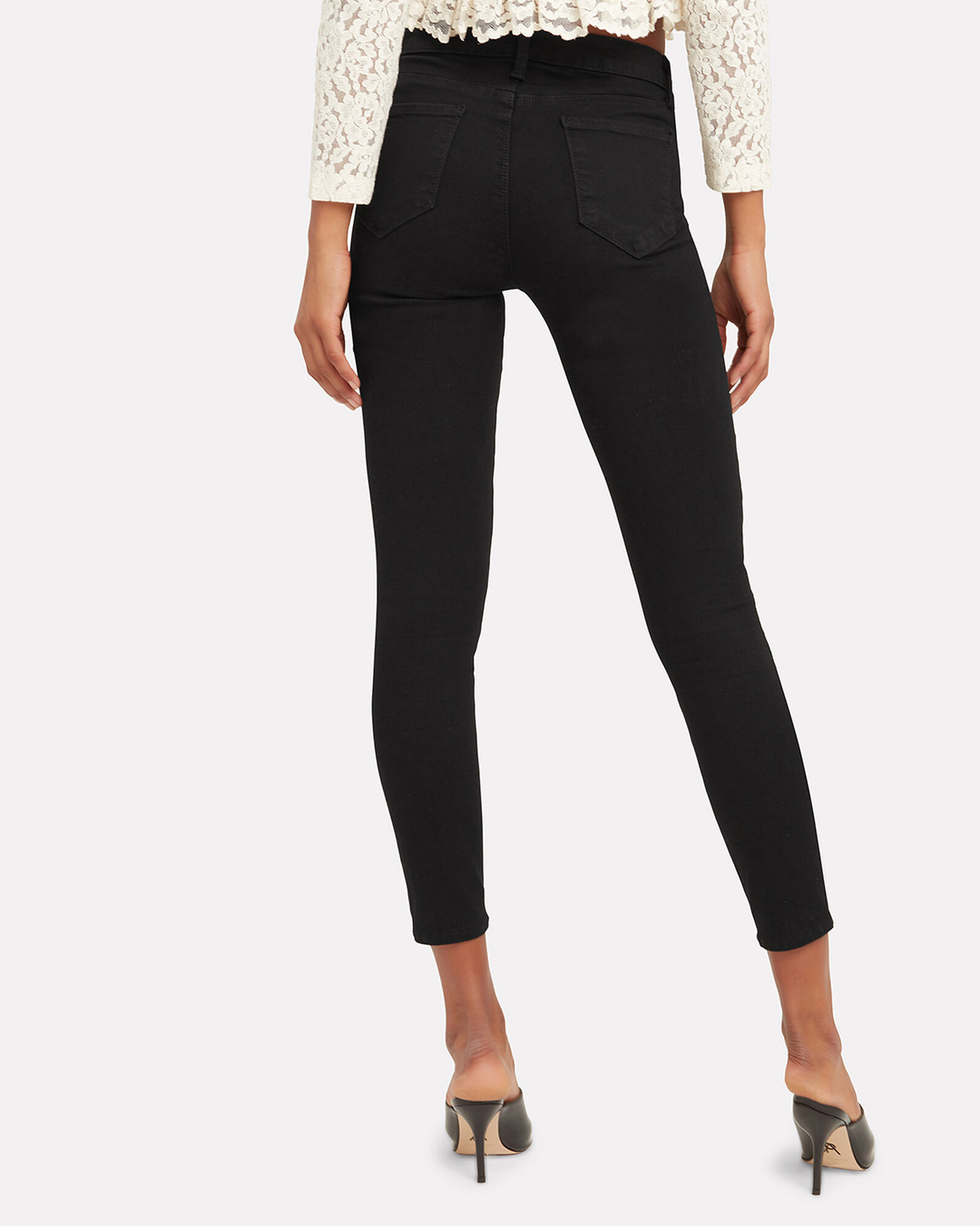 Margot High-Rise Skinny Jeans, BLACK, hi-res