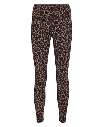 Luna Leopard Print High-Rise Leggings, BROWN/BLACK, hi-res
