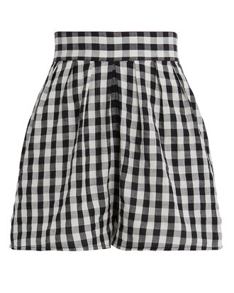 Annex Gingham Shorts, BLACK, hi-res