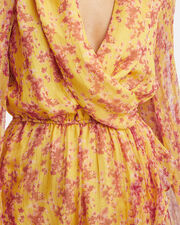 Marigold Abstract-Printed High-Low Gown, MULTI, hi-res