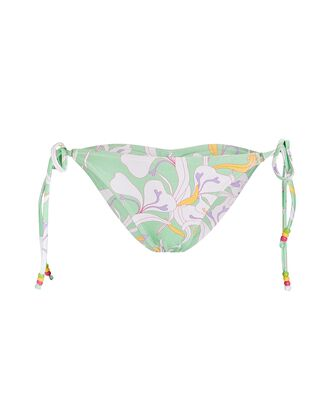 Lemongrass Tie Bikini Bottoms, LIGHT GREEN, hi-res