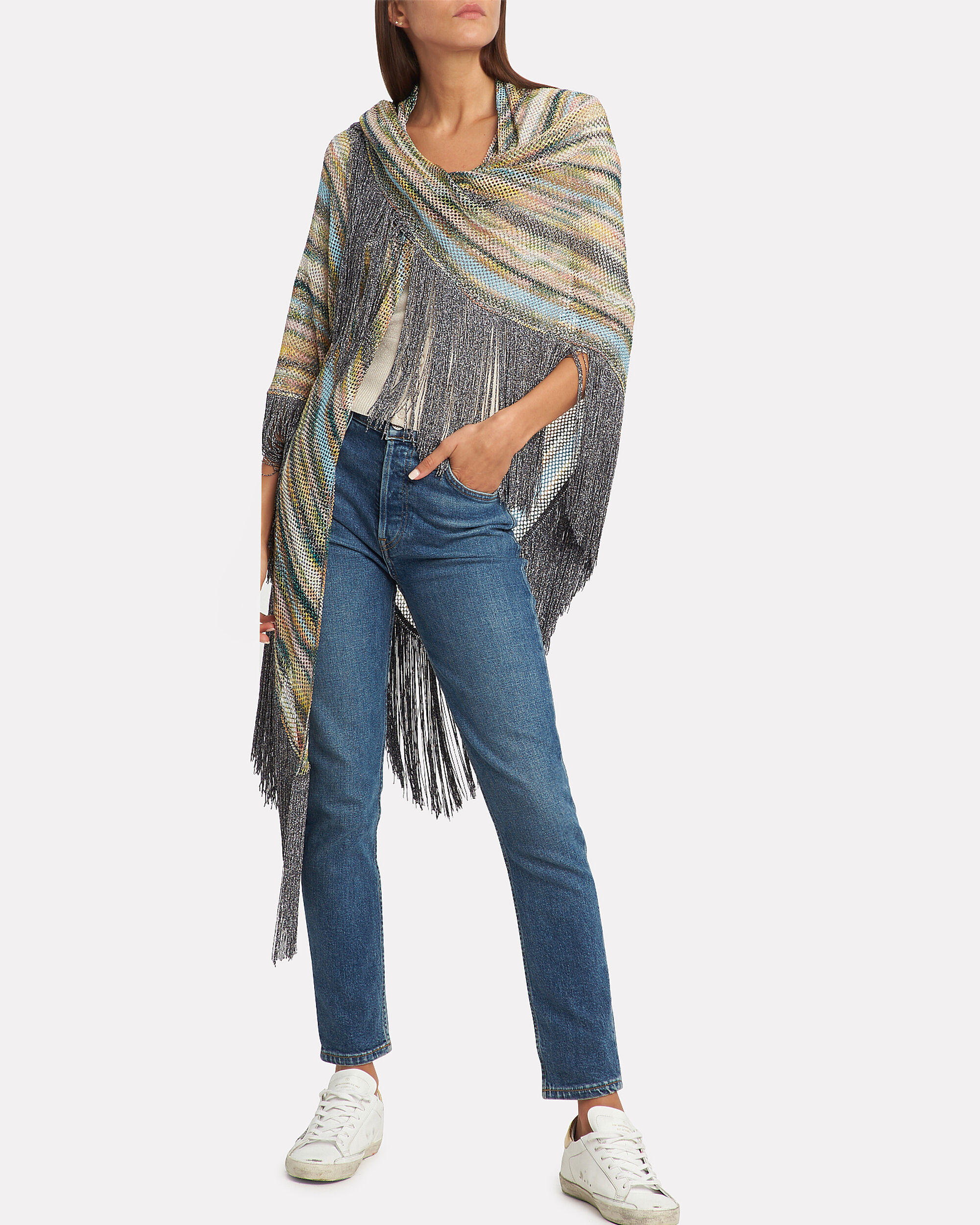 Lurex Multi Shawl, MULTI, hi-res