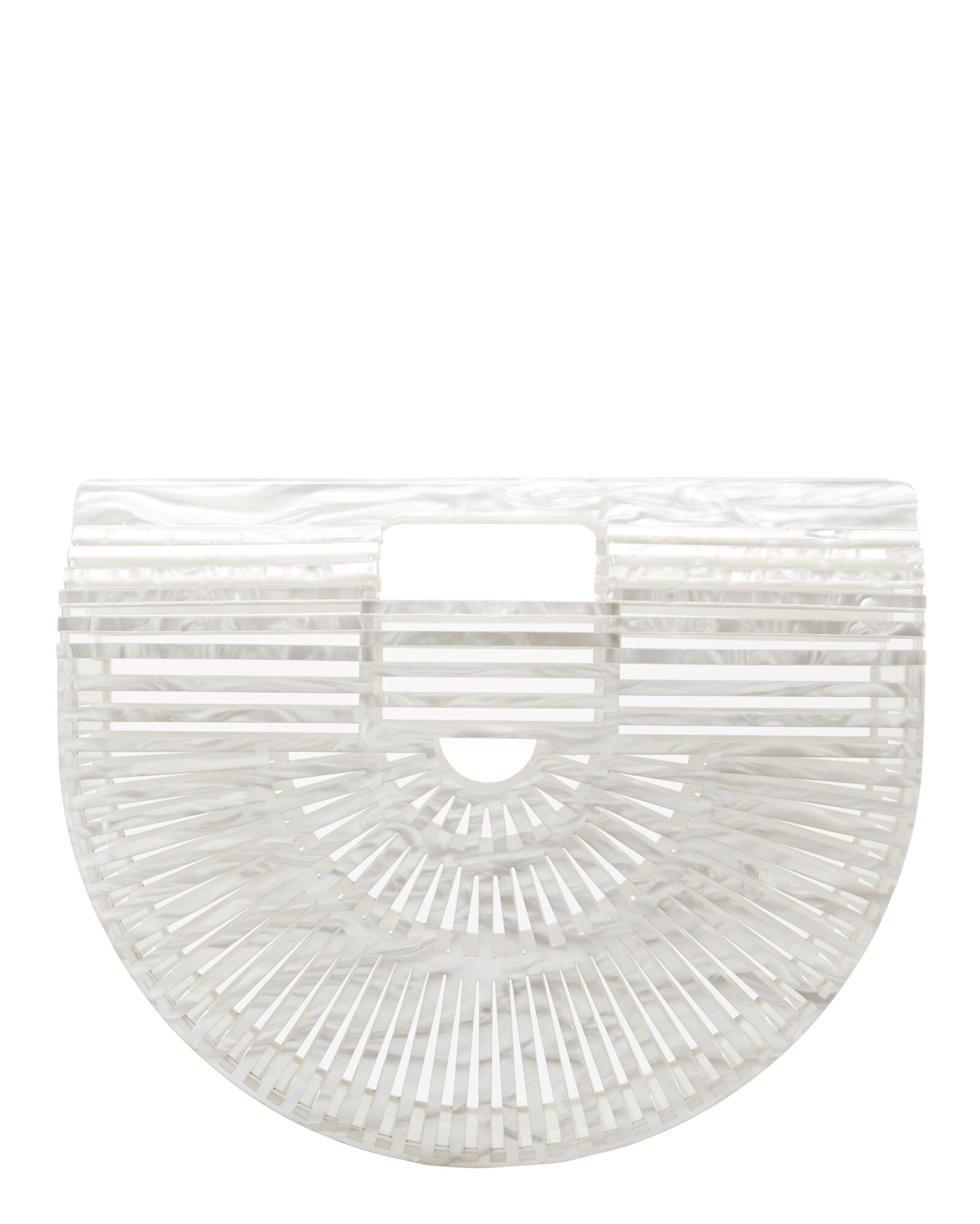Ark Small Mother-Of-Pearl Bag, WHITE, hi-res