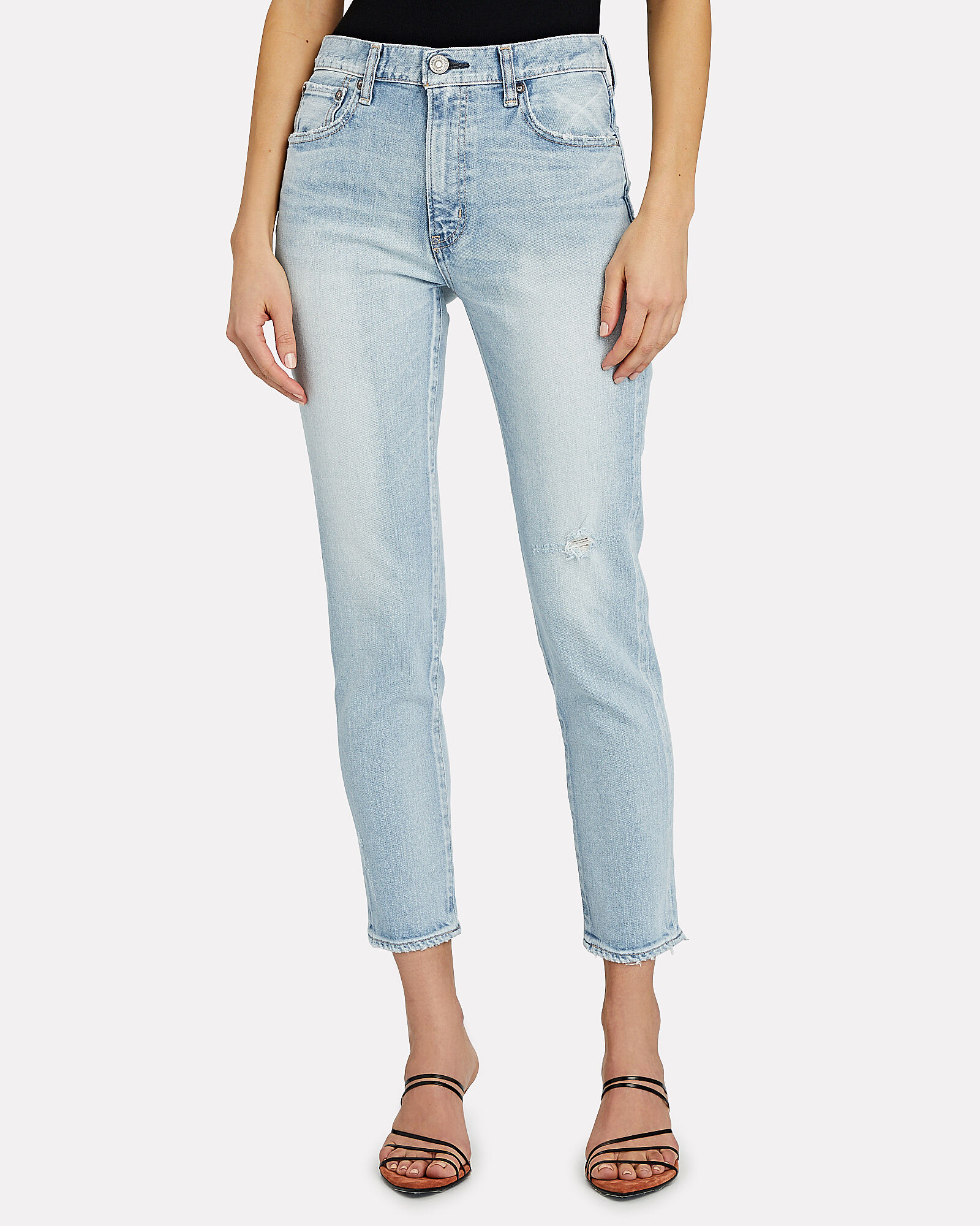 Hillrose High-Rise Skinny Jeans, LIGHT WASH DENIM, hi-res