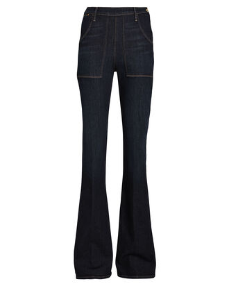 Le Flare de Francoise Jeans, DARK WASH DENIM, hi-res
