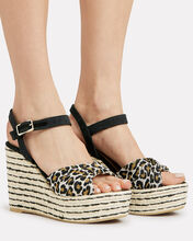 Jeanne Espadrille Wedges, BROWN, hi-res