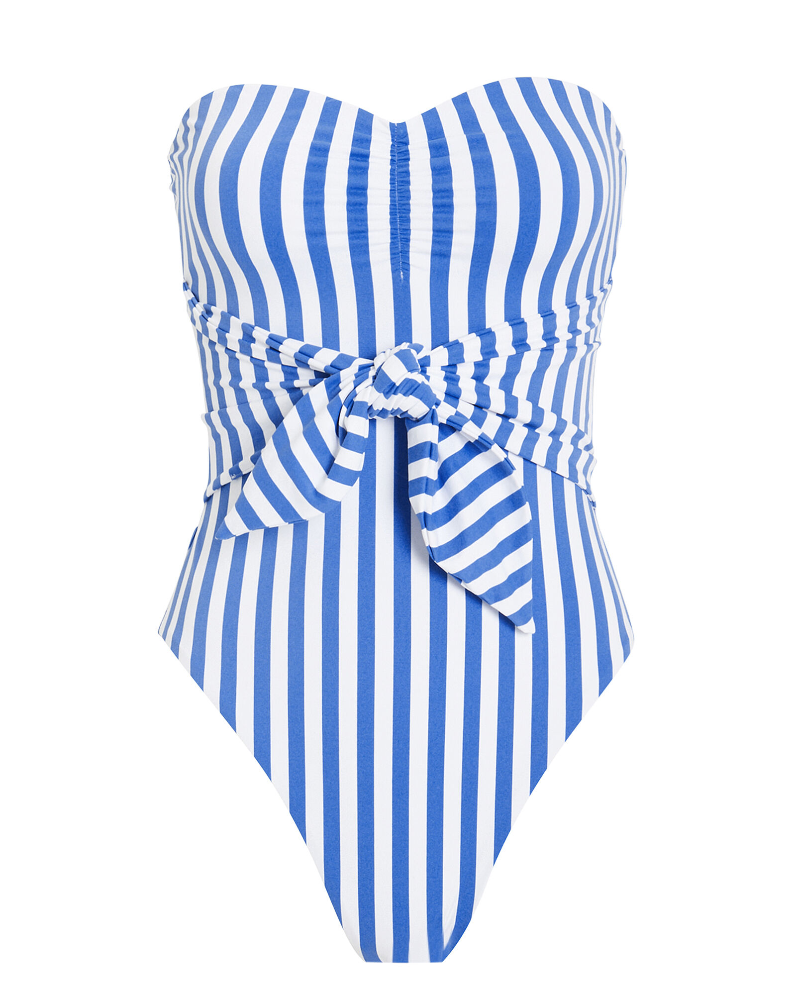 Capri One Piece Swimsuit, BLUE/STRIPE, hi-res