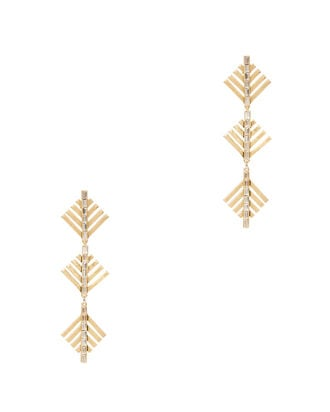 Cascadia Pine Drop Earrings, GOLD, hi-res