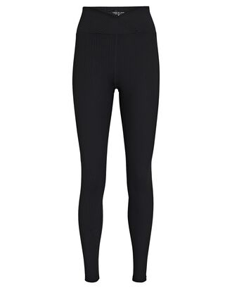 Veronica Rib Knit Leggings, BLACK, hi-res