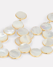 Gin Mother-Of-Pearl Earrings, WHITE, hi-res