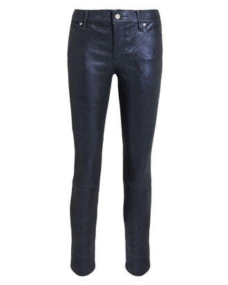 Barracuda Prince Leather Navy Pants, NAVY, hi-res