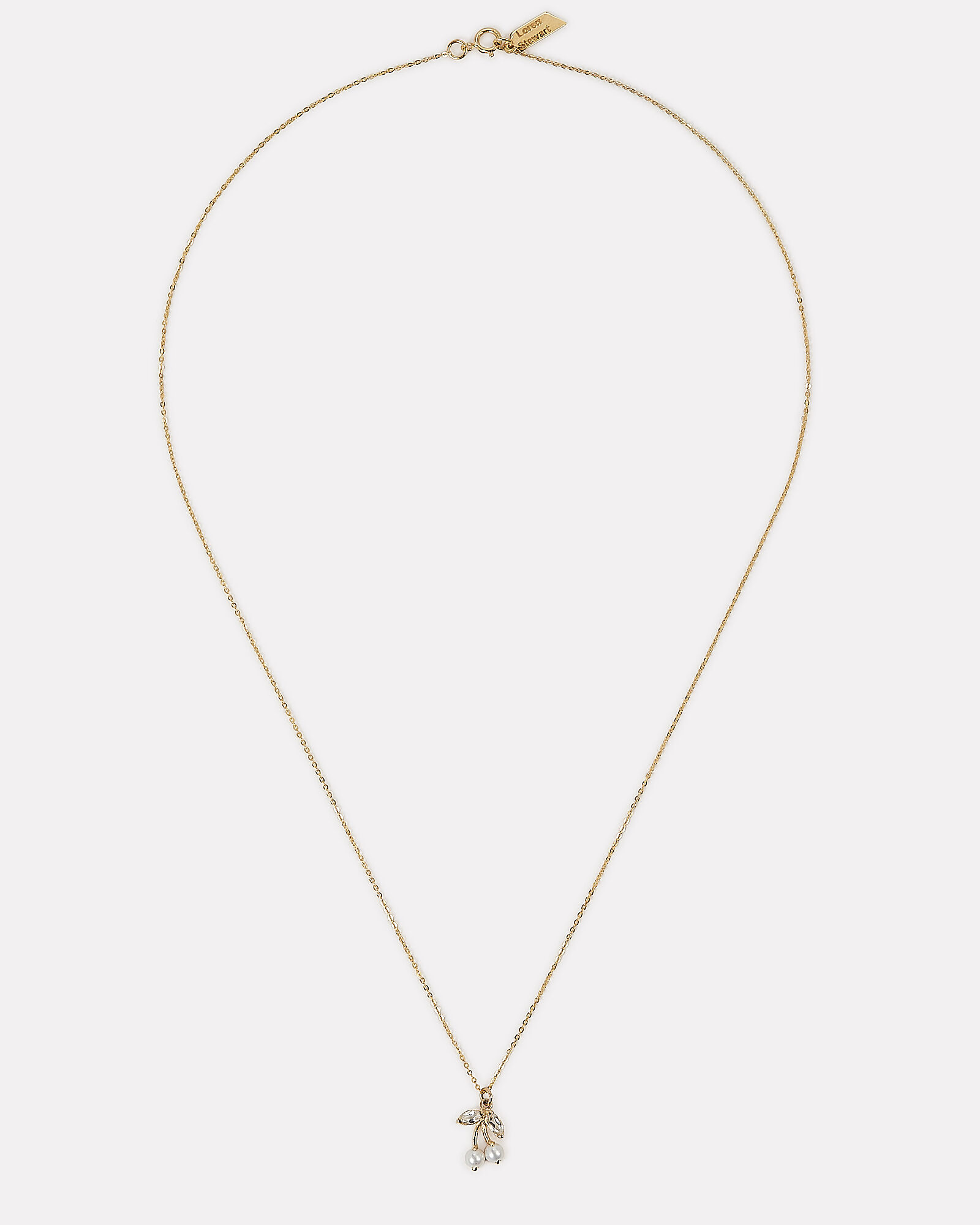 Cherry Supreme Necklace, GOLD, hi-res