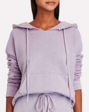 Rayne Cotton Terry Hooded Sweatshirt, LIGHT PURPLE, hi-res