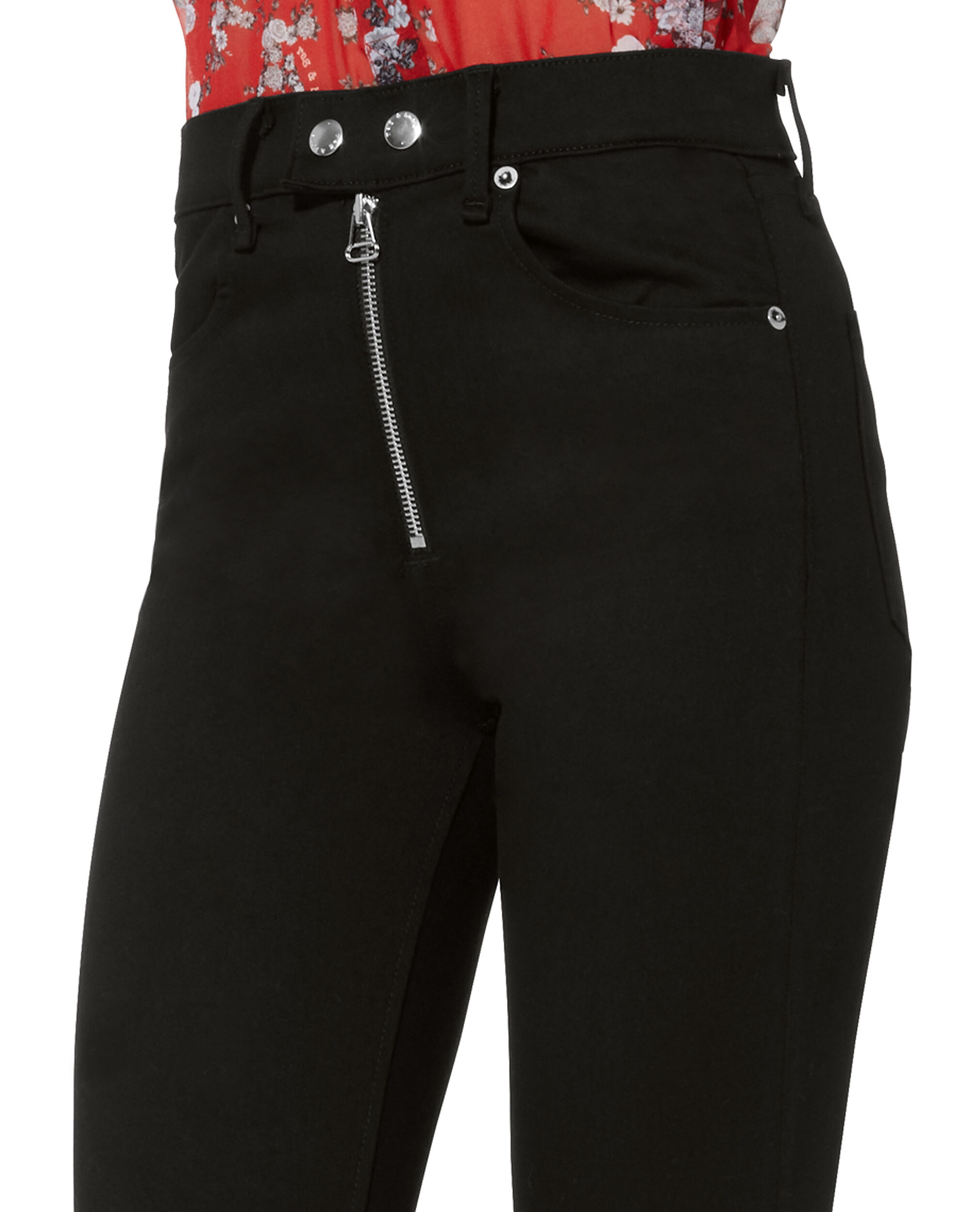 Isabel Moto Jeans, BLACK, hi-res
