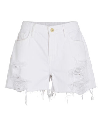 Le Grand Garçon Shorts, RUMPLED BLANC RIPS, hi-res