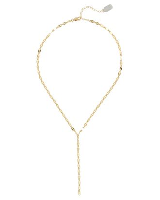 Yaeli Cut-Out Lariat Necklace, GOLD, hi-res