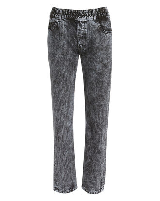 Remi Jeans, BLACK ACID WASH DENIM, hi-res