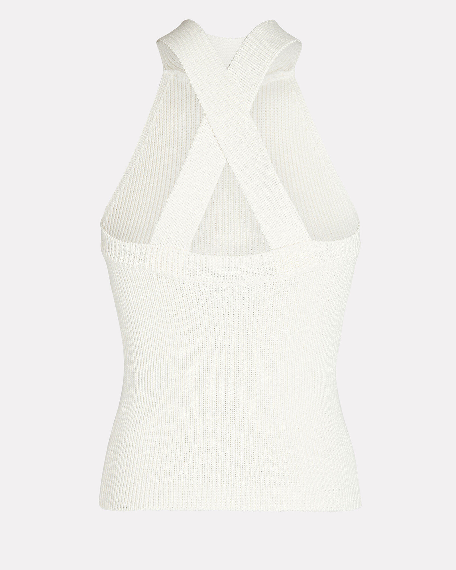 Dylan Sleeveless Knit Top, IVORY, hi-res