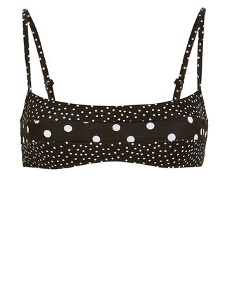 Brooke Mixed Polka Dot Bikini Top, BLACK/POLKA DOT, hi-res