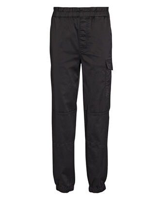 Piper Satin Joggers, BLACK, hi-res