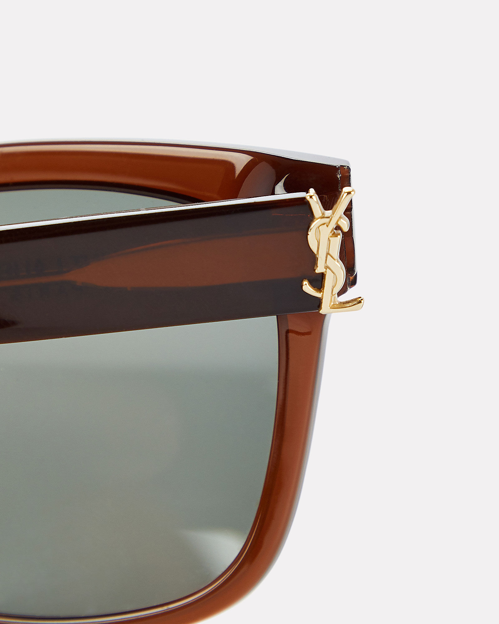 Oversized Rounded Sunglasses, BROWN, hi-res