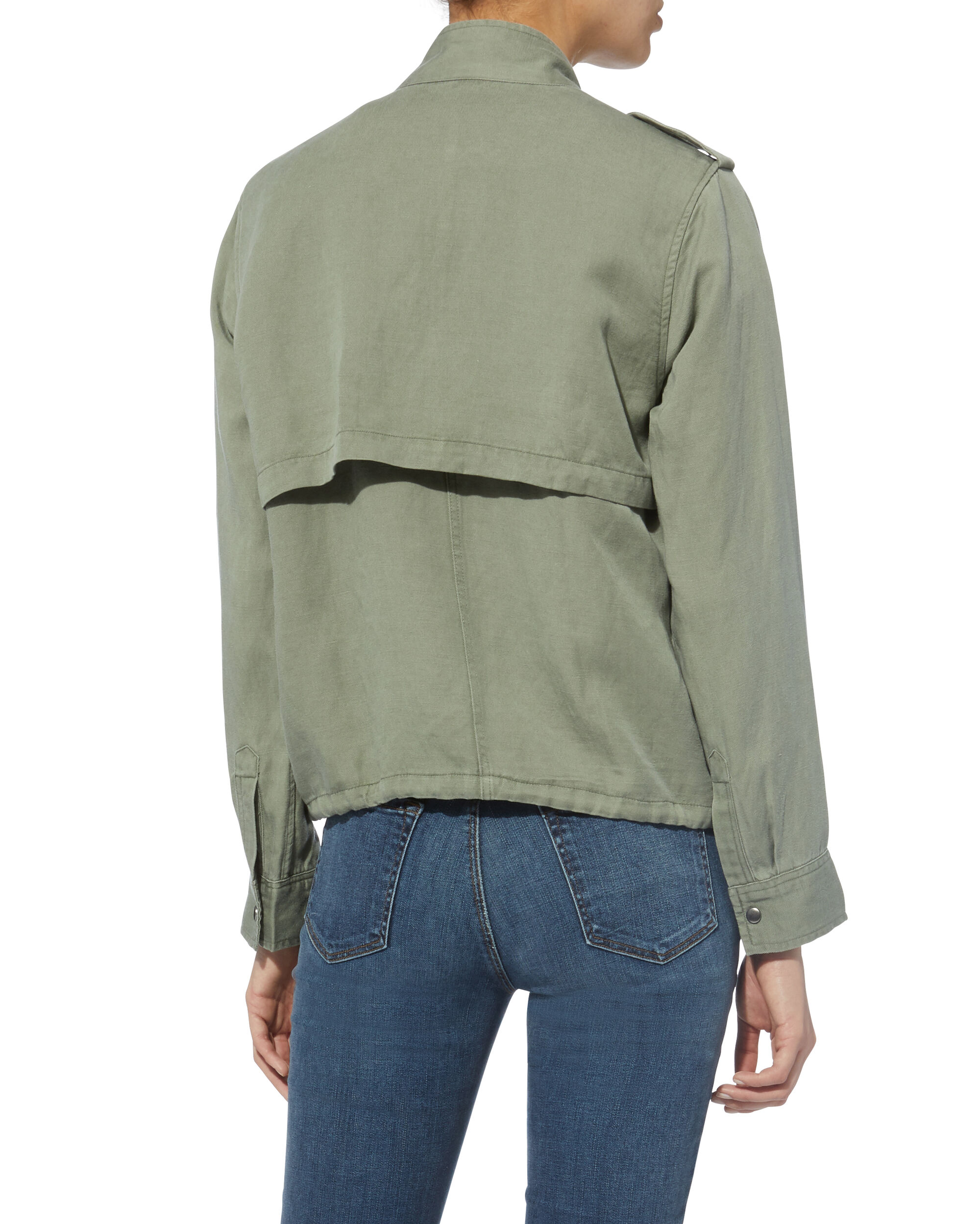 Collins Military Jacket, OLIVE/ARMY, hi-res