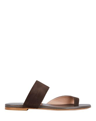 x Pernille Teisbaek Zefiro Slide Sandals, BROWN, hi-res