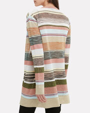 Lurex Stripe Cardigan, MULTI, hi-res