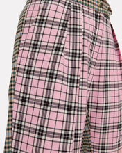 Gurli Checked Wool Tailored Trousers, BLUSH, hi-res
