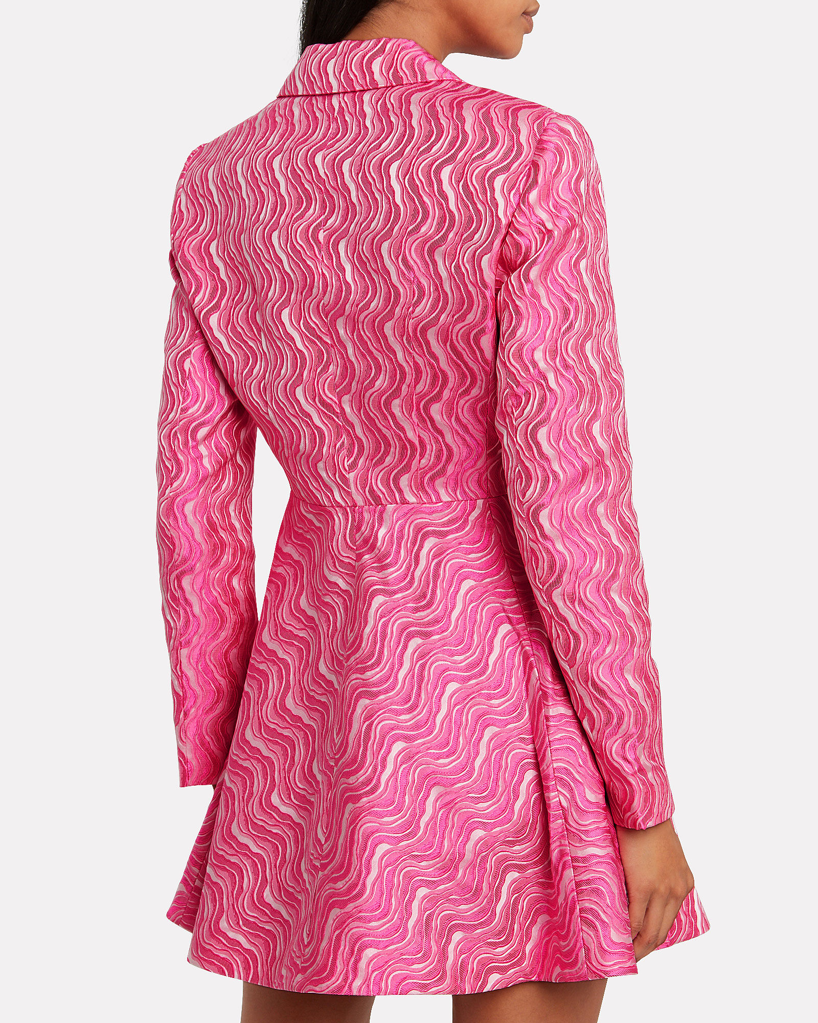 No. 23 Jacquard Blazer Dress, PINK, hi-res