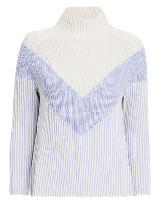Graham Sweater, WHITE/LIGHT BLUE, hi-res