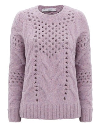Fordon Oversized Sweater, PURPLE-LT, hi-res