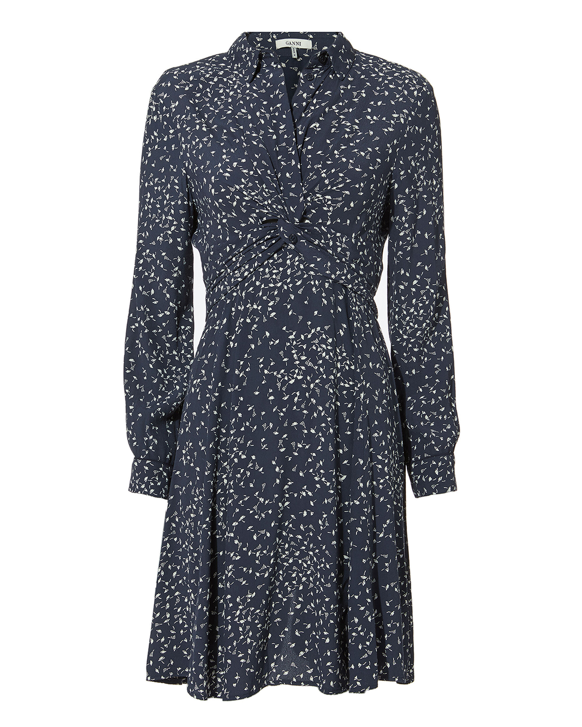 Barra Total Eclipse Knot Front Dress, NAVY, hi-res