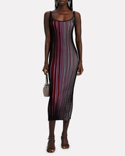 Striped Knit Maxi Dress, , hi-res