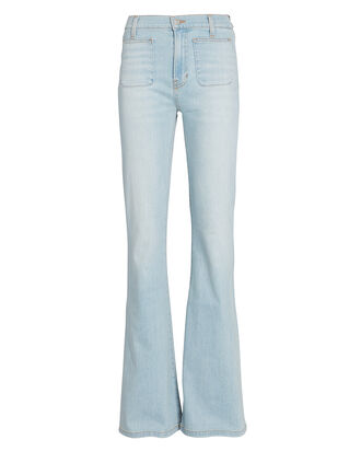 Florence Flared High-Rise Jeans, DENIM-LT, hi-res