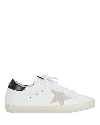 Superstar Grey Star Low-Top Sneakers, WHITE, hi-res