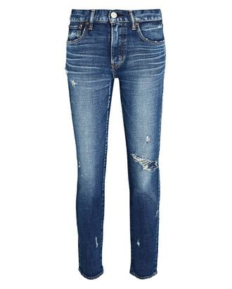 Gleedsville Cropped Skinny Jeans, MEDIUM WASH DENIM, hi-res