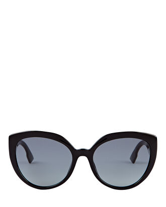 DDiorF Cat Eye Sunglasses, BLACK, hi-res