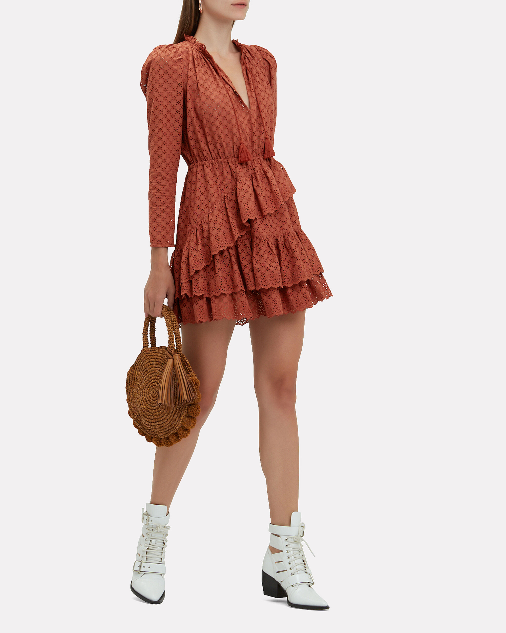 Josette Dress, BEIGE, hi-res