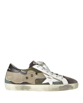 Superstar Camo Canvas Sneakers, PRINT, hi-res