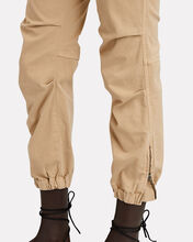 Cropped French Military Pants, BEIGE, hi-res