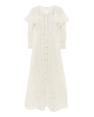 Delphine Maxi Dress, WHITE, hi-res