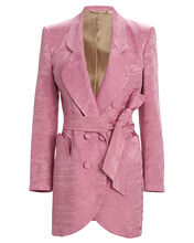 Lulu Sunshine Jacquard Blazer Dress, PURPLE-LT, hi-res