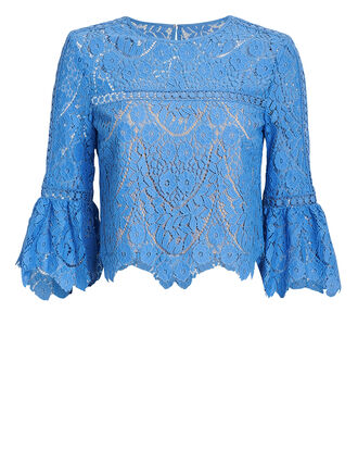 Chaya Lace Top, BLUE-MED, hi-res